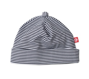 Zutano-D39 Candy Stripe Black Hat